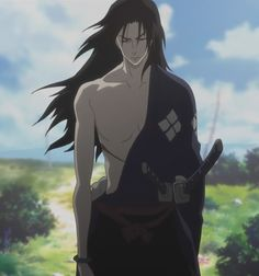 Samurai Champloo~ That one moment where you realized what a major badass Jin is. Fanarts Anime, Anime Characters, Manga Anime, Anime Art, Hot Anime Guys, I Love Anime, Awesome Anime, Jin, Cowboy Bebop