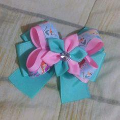 Ribbon Hair Bows, Diy Hair Bows, Bow Hair Clips, Diy Hair Accessories, Cute Crafts, How To Make Bows, Birthday Decorations, Diy Hairstyles, Crochet Projects