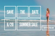 Don't miss Totally Rad's Summer Sale! - http://www.gettotallyrad.com