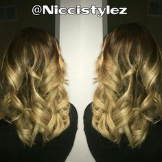 Ombre love! #hair #haircut #hairstylist #highlights #longhair #shorthair #colorful #color #ombre #balayage #torontohairstylist #toronto #stylist #tattoo #l4l #fitness #fitmom #work #workout #independent  #invertedbob #sexy #confidence #love #girl #oakville #salon #niccistylez