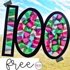 100th Day Activities for Kindergarten, 1st grade, and 2nd grade