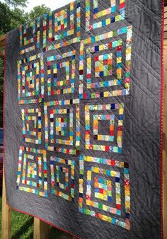 see mary quilt: Scrapbuster Quilt Finish!