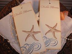 2  x 5.  .60 #starfish tags