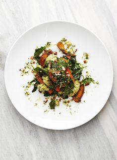 Kale Pecan Pesto Salad