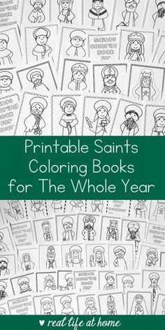 12 October Activities for Catholic Families Printable Looking for a saint activity to do with children? This bundle includes saints coloring books for the whole year and is perfect for Catholic kids! Catholic Saints For Kids, Catholic Schools Week, Catholic Religious Education, Catholic Crafts, Catholic All Year, Catholic Traditions, Catholic Homeschooling, Religious Art, Religion Activities