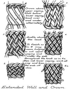Paracord Tutorial, Paracord Knots, Rope Knots, Sewing Lace, Hand Sewing, Best Knots, Knots Guide, Decorative Knots, Viking Knit