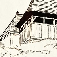 How to Create Vector Folk Buildings Using a Digital Tablet and Tracing Techniques  http://vector.tutsplus.com/tutorials/illustration/how-to-create-vector-folk-buildings-using-a-digital-tablet-and-tracing-techniques/?search_index=163#