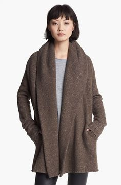 Vince Sweater Coat available at #Nordstrom