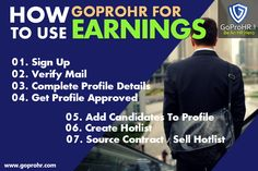 Now source contracts based on your industry based recruitment skill and not only location. Be the master of the price you want to deliver with our bidding tool. Build your HR Brand based on your client reviews, ratings, and performance on GoProHR. Now create a list of top 10 candidates of a particular industry & function and put it for sale and ask for bids. Get complete HR support if you are finding any difficulty in delivering any contract. REGISTER NOW