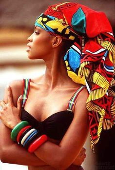 Head Wrap Inspiration | #vlisco #headwrap #fashion #trend