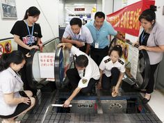 AP CHINA DAILY LIFE I CHN 4th escalator accident in China 3 August 2015