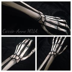 Skeleton arm art