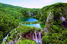 Croatia | Plitvice Lakes National Park...I want to go here! Add this one to my travel bucket list...