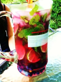 Blueberry Mojitos - summer perfection