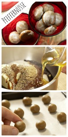 Pfeffer, Ingwer, Kardamom und Piment geben den Geschmack: Pfeffernüsse mit Ingwer und Kardamom | http://eatsmarter.de/rezepte/pfeffernuesse