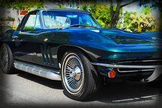 1965 Chevrolet Corvette  Classic Car  von kellywarrenphotoart, $22.00