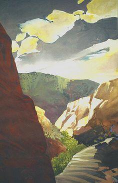 """Into the Canyon"" by Randall David Tipton"