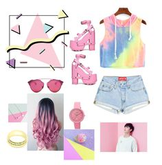 """rose"" by chaimae-cc ❤ liked on Polyvore featuring Y.R.U., Crayo, Christian Dior and Lisa Angel"