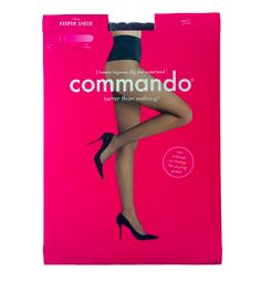 Black, sheer, snag resistant tights made in the USA, AND they are DIG FREE/ COMFORTABLE?! YES PLEASE!! The Keeper Sheer