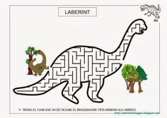 PROJECTE DINOSAURES - Anna Alonso - Picasa Web Albums. Images 20 and 21 are dinosaur mazes.