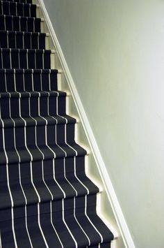 Little Green Notebook: DIY: Stair Runner