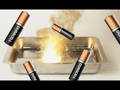 If you're ever in a pinch or in an adventurous mood then here is a quick guide to making thermite out of batteries. This can be used to create pure Manganese. Survival Books, Survival Weapons, Camping Survival, Outdoor Survival, Survival Prepping, Survival Gear, Survival Skills, Survival Stuff, Homemade Fireworks