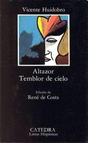 Altazor. Vicente Huidobro.