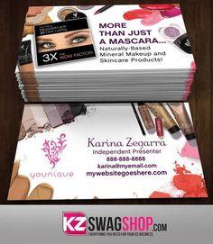 Younique Business Cards Style 9 Visit Carte De Visite