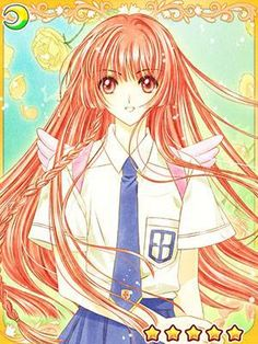 Cards from the Cardcaptor Sakura mobile game