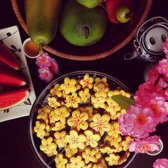 Hoa mai Cookies for Tet Holiday 2015.