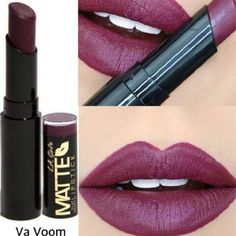 Matte Lipstick VA VOOM Introducing our hottest new lip color - Matte Flat Velvet Lipstick. These 26 bold shades are rich in pigment and filled with moisture in a flat velvet finish. With added shea butter to hydrate lips and a soft, smooth application, your lips will feel as gorgeous as they look! Makeup Lipstick