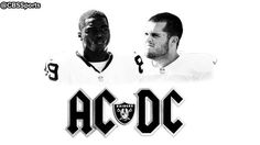 That noise you just heard? Oh, that'd be the @RAIDERS playing a little AC/DC