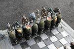 Alien versus Predator chess set!