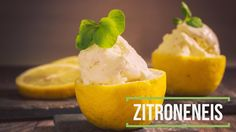 Zitroneneis ohne Eismaschine - Low Carb glutenfrei
