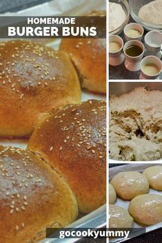 Looking for a quick and healthy homemade recipe for burger buns? You found the best one. Today, I want to share with you how to cook the best brioche for your family. Healthy Burger Recipes, Fast Healthy Meals, Vegetarian Recipes Easy, Best Homemade Burgers, Best Homemade Bread Recipe, Delicious Burgers, Delicious Sandwiches, Best Brunch Recipes, Baking Recipes