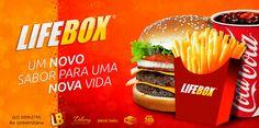 Cliente: Lifebox / Proposta: Promocional da marca / Desenvolvimento: Igor Alves