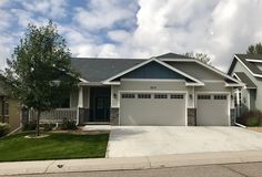 This newer home in Greeley was hit with hail this summer and needed a new roof.  We installed GAF Timberline HD shingles on it in the color Pewter Gray.