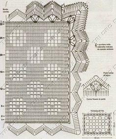 SANDRA CROCHE: Jogo Americano de croche