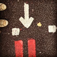 "instagram @f4cundo's photo: ""#street #art #arrow #london"""