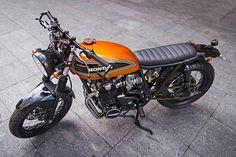 Honda Four Brat Style #motorcycles #caferacer #motos | caferacerpasion.com