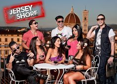 Jersey Shore, a not so secret love of mine. It fills my life with trashy drama because I cant provide it on my own (I guess that's a good thing).