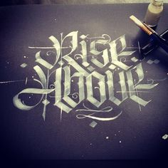 Lettering & calligraphy inspiration | #893
