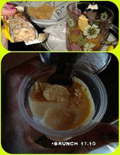 "Principal meal of the day- MUU MUU FRUTTA e latte più formaggio.  ""BUDINO""  con le macchie da @ Cameo Lacolazione diventa begin #thebrunch. Friday. 17.10. 10AM. #peach#pesca vellutata #choice#forkids #infant #childhood memories #milk #lait #latte #sugar #cream #mousse #pan Similiar #icy #ice i.x mug; 80cl.117k.5,1/3,3fat.18carb./17sugar.6,2protein high in…"