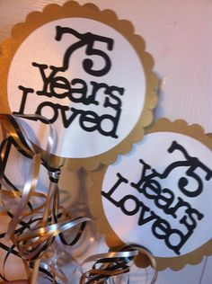 30th 40th 50th 75th Birthdays And Anniversary By FromBeths On Etsy