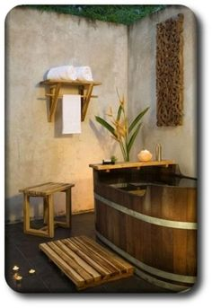#Teak #BathAccessories Spa