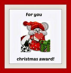 Eleanna's Diary: Το πρώτο χριστουγεννιάτικο βραβείο....