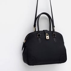 76921a92c4bd Image 4 of CITY BAG WITH LOCK from Zara Fashion Tips