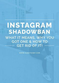 Are you a victim of an Instagram Shadowban?? Hundreds of Instagram users are experincing a massive decrease in engagement due to being shadow banned by Instagram. In this post Instagram expert, Alex Tooby breaks down what a shadowban is, why you got one on your Instagram account and how to get rid of it! Must read!