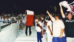 Qatar vs China, Soccer World Cup qualification match, September 2001.