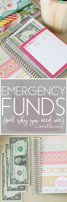 Everyone needs an emergency fund - *especially* if you're trying to get out of debt! Here's why we have one, what we've had to use it for, and why you need one, too!